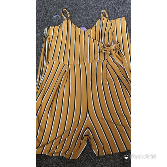Walmart Pants - Yellow romper